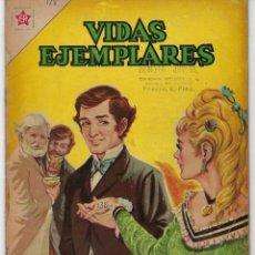 BDs: VIDAS EJEMPLARES: SAN GABRIEL DE LA DOLOROSA - AÑO IX - Nº 138 - DICIEMBRE 1º DE 1962 **NOVARO**. Lote 240188125