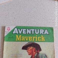 Tebeos: NOVARO AVENTURA MAVERICK N. 350. Lote 240421210
