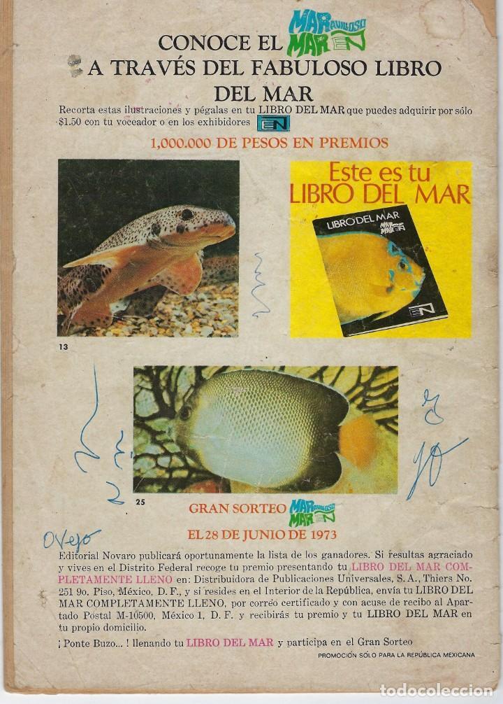 Tebeos: EPOPEYA: LOS PESCADORES DE ESTRELLAS - AÑO XVI - Nº 209 - MARZO 26 DE 1973 ** NOVARO ** - Foto 2 - 240613650