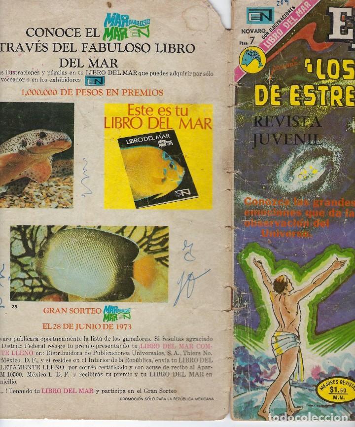 Tebeos: EPOPEYA: LOS PESCADORES DE ESTRELLAS - AÑO XVI - Nº 209 - MARZO 26 DE 1973 ** NOVARO ** - Foto 3 - 240613650