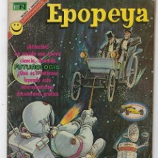 Tebeos: EPOPEYA: EL MARAVILLOSO MUNDO DEL PORVENIR - AÑO XVI - Nº 193 - MARZO 31 DE 1972 ** NOVARO **. Lote 240614470