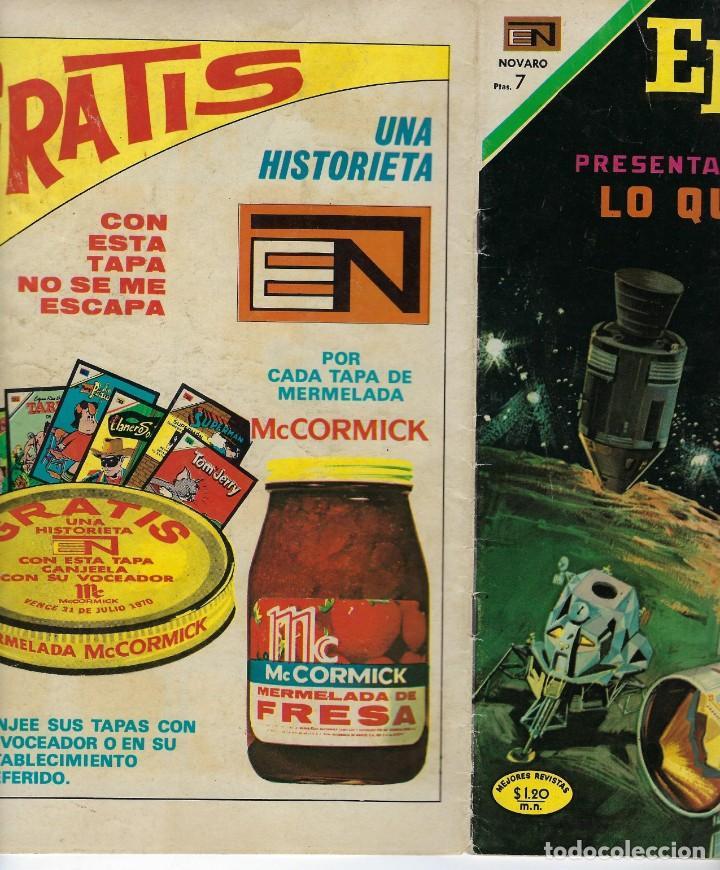 Tebeos: EPOPEYA: LO QUE VENDRA 2ª PARTE - AÑO XIII - Nº 147 - MAYO 30 DE 1970 ** NOVARO ** - Foto 3 - 240614985