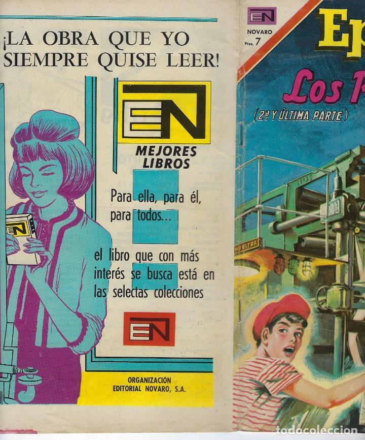 Tebeos: EPOPEYA: LOS PERIODICOS 2ª Y ÚLTIMA PARTE - AÑO XII - Nº 143 - ABRIL 4 DE 1970 ** NOVARO ** - Foto 3 - 240615415