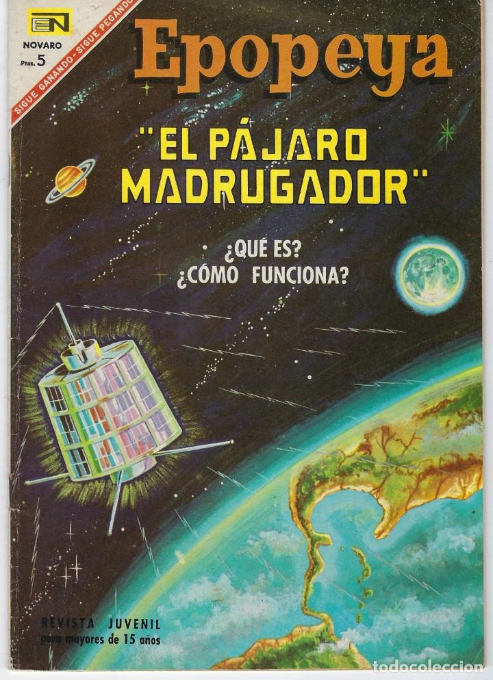 EPOPEYA: EL PAJARO MADRUGADOR - AÑO IX - Nº 107 - ABRIL 1º DE 1967 ** NOVARO ** (Tebeos y Comics - Novaro - Epopeya)