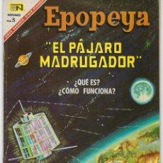 Tebeos: EPOPEYA: EL PAJARO MADRUGADOR - AÑO IX - Nº 107 - ABRIL 1º DE 1967 ** NOVARO **. Lote 240617060
