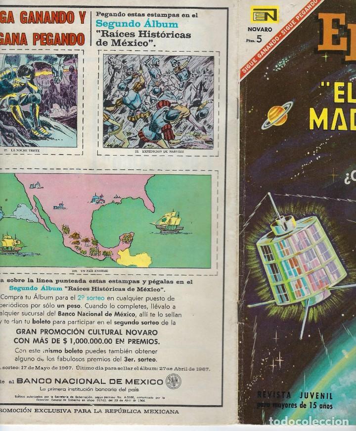 Tebeos: EPOPEYA: EL PAJARO MADRUGADOR - AÑO IX - Nº 107 - ABRIL 1º DE 1967 ** NOVARO ** - Foto 3 - 240617060