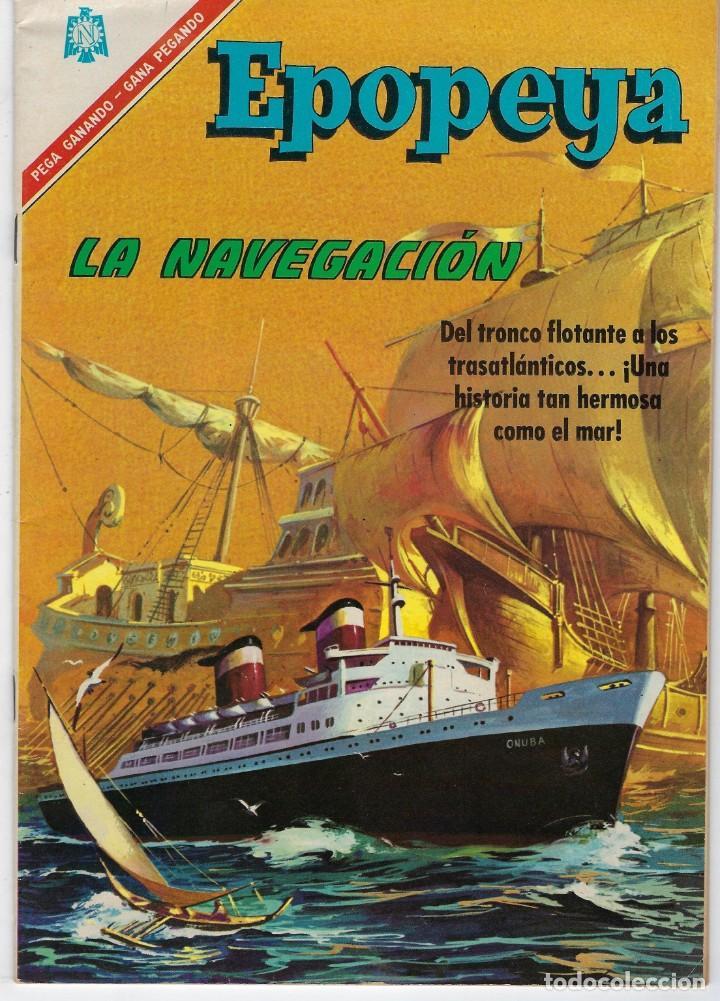EPOPEYA: EL PAJARO MADRUGADOR - AÑO IX - Nº 101 - OCTUBRE 1º DE 1966 ** NOVARO ** (Tebeos y Comics - Novaro - Epopeya)