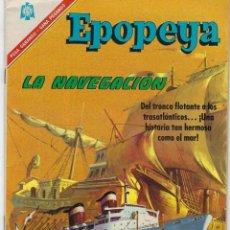 Tebeos: EPOPEYA: EL PAJARO MADRUGADOR - AÑO IX - Nº 101 - OCTUBRE 1º DE 1966 ** NOVARO **. Lote 240617315