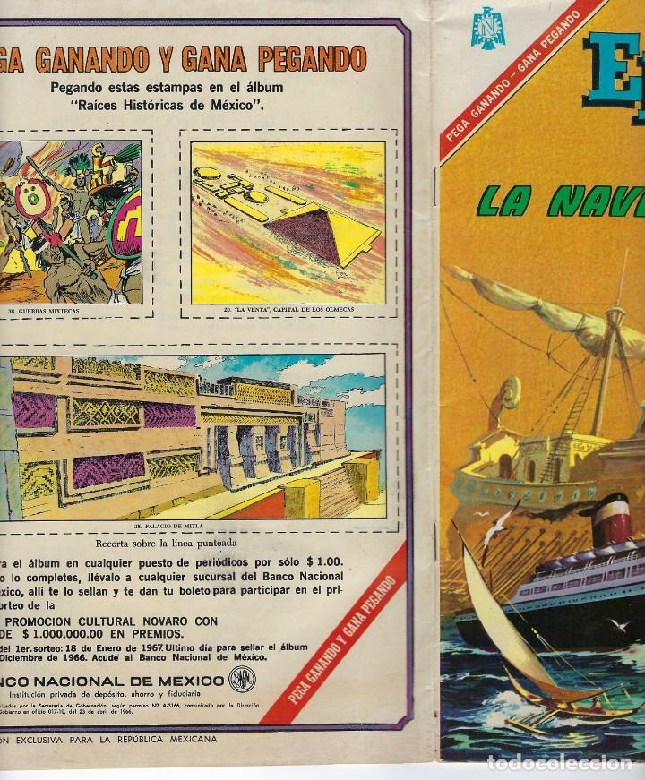 Tebeos: EPOPEYA: EL PAJARO MADRUGADOR - AÑO IX - Nº 101 - OCTUBRE 1º DE 1966 ** NOVARO ** - Foto 3 - 240617315
