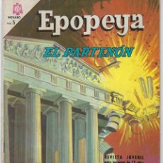 Tebeos: EPOPEYA: EL PARTENON - AÑO IX - Nº 98 - JULIO 1º DE 1966 ** NOVARO **. Lote 240617705