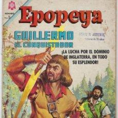 Tebeos: EPOPEYA: GUILLERMO EL CONQUISTADOR - AÑO VIII - Nº 93 - FEBRERO 1º DE 1966 ** NOVARO **. Lote 240618235