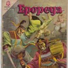 Tebeos: EPOPEYA: EL ATAQUE DE LOS SAMURAIS - AÑO VIII - Nº 86 - JULIO 1º DE 1965 ** NOVARO **. Lote 240619740