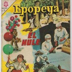 Tebeos: EPOPEYA: EL HULE - AÑO VII - Nº 81 - FEBRERO 1º DE 1965 ** NOVARO **. Lote 240620120