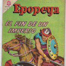 Tebeos: EPOPEYA: EL FIN DE UN IMPERIO - AÑO VII - Nº 80 - ENERO 1º DE 1965 ** NOVARO **. Lote 240620560