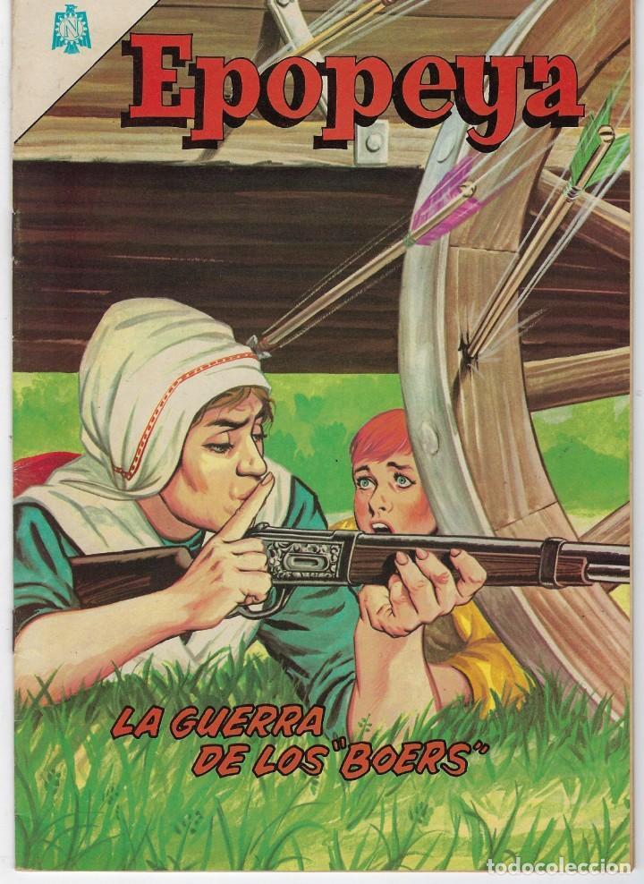 EPOPEYA: LA GUERRA DE LOS BOERS - AÑO VII - Nº 79 - DICIEMBRE 1º DE 1964 ** NOVARO ** (Tebeos y Comics - Novaro - Epopeya)
