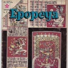 Tebeos: EPOPEYA: EL IMPERIO MAYA - AÑO VI - Nº 63 - AGOSTO 1º DE 1963 ** NOVARO **. Lote 240621970