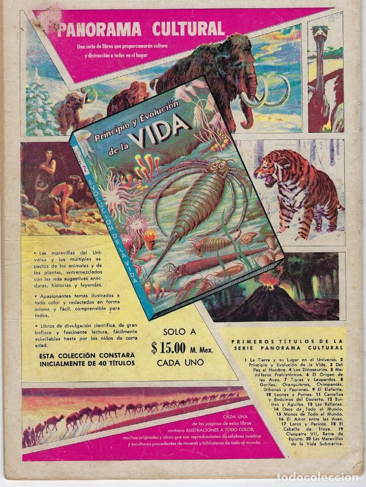 Tebeos: EPOPEYA: EL IMPERIO MAYA - AÑO VI - Nº 63 - AGOSTO 1º DE 1963 ** NOVARO ** - Foto 2 - 240621970