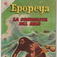 Tebeos: EPOPEYA: LA CONQUISTA DEL MAR - AÑO V - Nº 56 - ENERO 1º DE 1963 ** NOVARO **. Lote 240622480