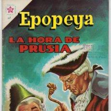 Tebeos: EPOPEYA: LA HORA DE PRUSIA - AÑO IV - Nº 48 - MAYO 1º DE 1962 ** NOVARO **. Lote 240622835