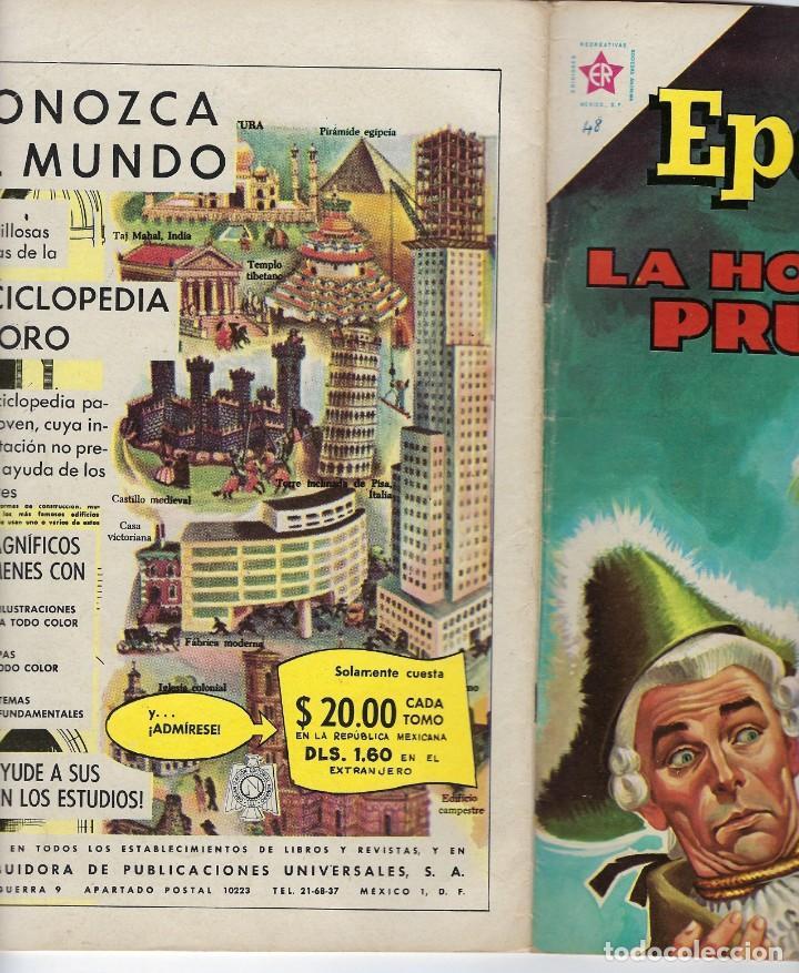 Tebeos: EPOPEYA: LA HORA DE PRUSIA - AÑO IV - Nº 48 - MAYO 1º DE 1962 ** NOVARO ** - Foto 3 - 240622835