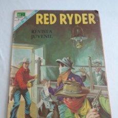 Tebeos: RED RYDER # 173 - NOVARO - AÑO 1968 - CROMOS DE EQUIPOS MEXICO,TOLUCA, AMERICA... Lote 240641745