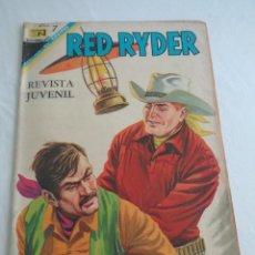 Tebeos: RED RYDER-NOVARO-Nº. 170 - EL DESQUITE DE LOS CUATREROS-1968.. Lote 240641900