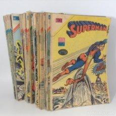 Tebeos: LOTE SUPERMAN - SERIE AGUILA - ¡37 NÚMEROS! ** NOVARO - EPUCOL - COLOMBIA ** LEER DESCRIPCIÓN.. Lote 240779680