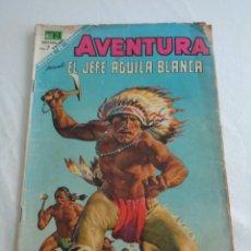 Tebeos: AVENTURA, EL JEFE AGUILA BLANCA, DE EDITORIAL NOVARO, NÚMERO 541 DE 21 DE MAYO DE 1968. Lote 240890435