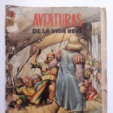 Tebeos: OPORTUNIDAD! - COMIC EN REGULAR ESTADO - AVENTURAS DE LA VIDA REAL Nº 1 - ORIGINAL EDITORIAL NOVARO. Lote 240944255
