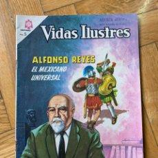Tebeos: VIDAS ILUSTRES Nº 134: ALFONSO REYES. Lote 241171840