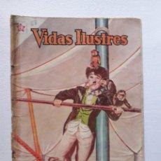 Tebeos: OPORTUNIDAD! - COMIC EN REGULAR ESTADO - VIDAS ILUSTRES Nº 68 - ORIGINAL EDITORIAL NOVARO. Lote 241179255