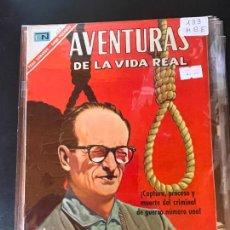 BDs: NOVARO AVENTURAS DE LA VIDA REAL NUMERO 133 EXCELENTE ESTADO. Lote 241194500
