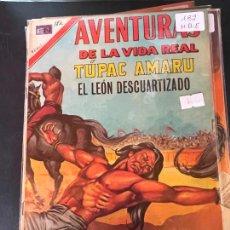 BDs: NOVARO AVENTURAS DE LA VIDA REAL NUMERO 182 EXCELENTE ESTADO. Lote 241195480