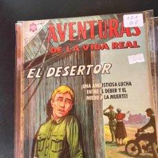BDs: NOVARO AVENTURAS DE LA VIDA REAL NUMERO 121 BUEN ESTADO. Lote 241198570