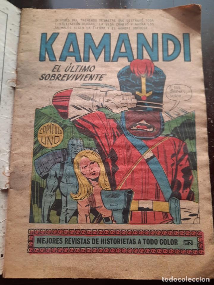 Tebeos: Cómic batman.kamandi.el último sobreviviente. - Foto 2 - 241305305