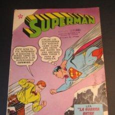 Tebeos: SUPERMAN (1952, ER / NOVARO) 252 · 9-I-1961 · SUPERMÁN. Lote 241381685