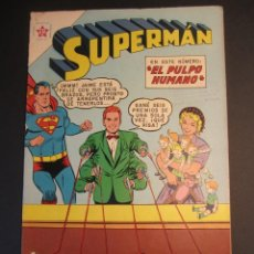 Tebeos: SUPERMAN (1952, ER / NOVARO) 276 · 26-VI-1961 · SUPERMÁN. Lote 241382330