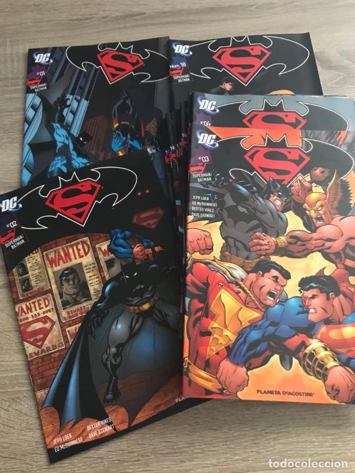 COMIC BATMAN VS SUPERMAN COMPLETO 18 NUMEROS (Tebeos y Comics - Novaro - Batman)