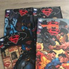 Tebeos: COMIC BATMAN VS SUPERMAN COMPLETO 18 NUMEROS. Lote 241720365