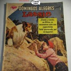 Tebeos: DOMINGOS ALEGRES Nº 488, LASSIE, ED. NOVARO AÑO 1963, ER, 6F. Lote 242060980