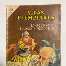 Tebeos: VIDAS EJEMPLARES. SANTOS BARSES, EULOGIO Y PROTOGENES. EDITORIAL NOVARO.. Lote 242096770