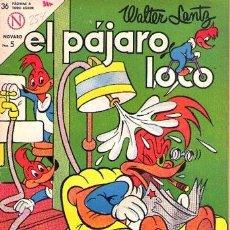 Livros de Banda Desenhada: NOVARO EL PAJARO LOCO Nº 254. Lote 242098970