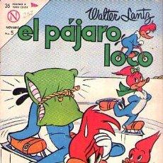 Livros de Banda Desenhada: NOVARO EL PAJARO LOCO Nº 252. Lote 242100710