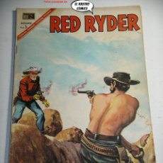 Tebeos: RED RIDER Nº 163, ED. NOVARO AÑO 1967, ER, 6F. Lote 242246065