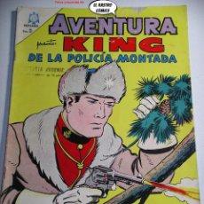 Tebeos: AVENTURA Nº 365, KING DE LA POLICIA MONTADA, ED. NOVARO AÑO 1965, ER, 6F. Lote 242248610