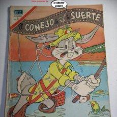 Tebeos: EL CONEJO DE LA SUERTE Nº 274, ED. NOVARO AÑO 1967, ER, 6F. Lote 242250915