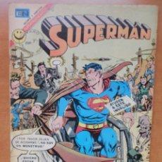 Tebeos: SUPERMÁN. AÑO XXI, Nº 855, ABRIL 12 DE 1972. NOVARO MÉXICO.. Lote 242867925
