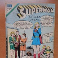 Tebeos: SUPERMÁN. AÑO XX, Nº 848, 23 DE FEBRERO 1972. NOVARO MÉXICO.. Lote 242870420