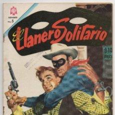 Tebeos: EL LLANERO SOLITARIO Nº 155 (NOVARO 1966). Lote 243122020