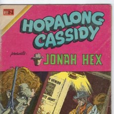 BDs: HOPALONG CASSIDY - AÑO XXI - Nº 244 - FEBRERO 16 DE 1975 **EDITORIAL NOVARO**. Lote 243547300